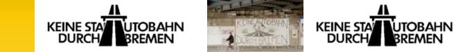 Keine Stadtautobahn in Bremen